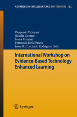 Vittorini, Pierpaolo - International Workshop on Evidence-Based Technology Enhanced Learning, ebook