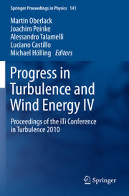 Oberlack, Martin - Progress in Turbulence and Wind Energy IV, ebook
