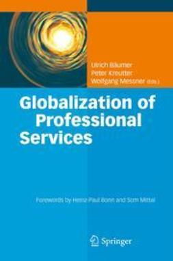 Bäumer, Ulrich - Globalization of Professional Services, ebook