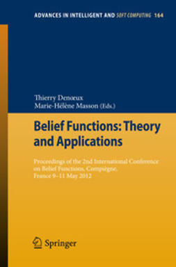 Denoeux, Thierry - Belief Functions: Theory and Applications, ebook