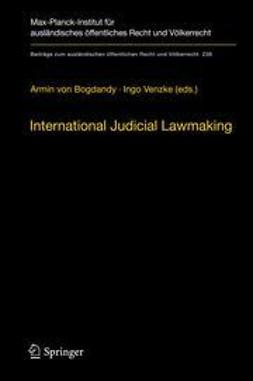 Bogdandy, Armin von - International Judicial Lawmaking, ebook