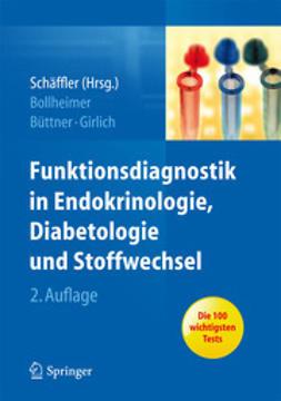 Bollheimer, Cornelius - Funktionsdiagnostik in Endokrinologie, Diabetologie und Stoffwechsel, ebook