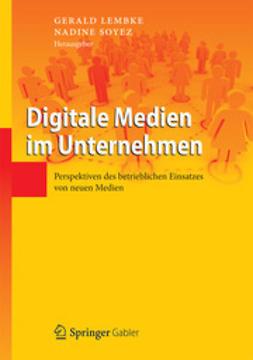Lembke, Gerald - Digitale Medien im Unternehmen, ebook