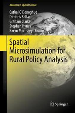 O'Donoghue, Cathal - Spatial Microsimulation for Rural Policy Analysis, ebook