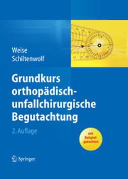 Weise, Kuno - Grundkurs orthopädisch-unfallchirurgische Begutachtung, e-kirja