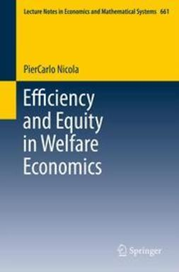 Nicola, PierCarlo - Efficiency and Equity in Welfare Economics, ebook