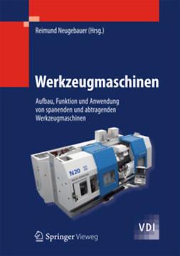 Neugebauer, Reimund - Werkzeugmaschinen, e-kirja