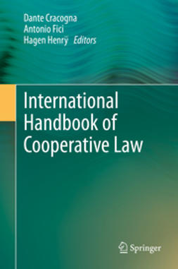 Cracogna, Dante - International Handbook of Cooperative Law, e-kirja