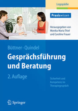 Büttner, Claudia - Gesprächsführung und Beratung, ebook