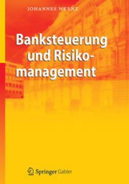 Wernz, Johannes - Banksteuerung und Risikomanagement, ebook