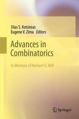 Kotsireas, Ilias S. - Advances in Combinatorics, ebook