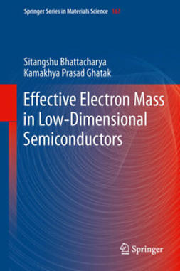 Bhattacharya, Sitangshu - Effective Electron Mass in Low-Dimensional Semiconductors, e-bok
