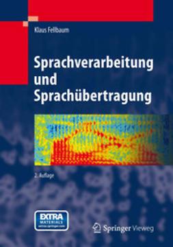 Fellbaum, Klaus - Sprachverarbeitung und Sprachübertragung, ebook