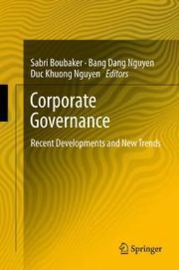 Boubaker, Sabri - Corporate Governance, ebook