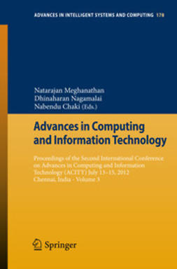 Meghanathan, Natarajan - Advances in Computing and Information Technology, ebook