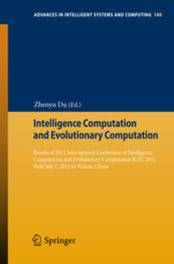 Du, Zhenyu - Intelligence Computation and Evolutionary Computation, ebook