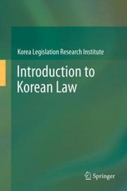 - Introduction to Korean Law, ebook