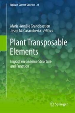 Grandbastien, Marie-Angèle - Plant Transposable Elements, ebook