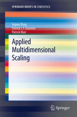 Borg, Ingwer - Applied Multidimensional Scaling, ebook