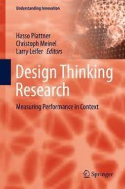 Plattner, Hasso - Design Thinking Research, e-bok