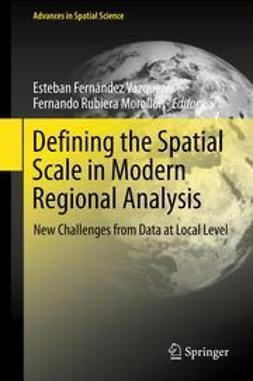 Vázquez, Esteban Fernández - Defining the Spatial Scale in Modern Regional Analysis, e-kirja