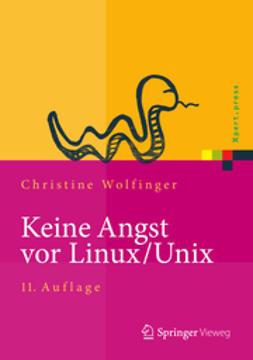 Wolfinger, Christine - Keine Angst vor Linux/Unix, ebook