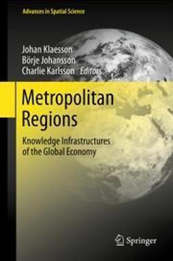 Klaesson, Johan - Metropolitan Regions, e-bok