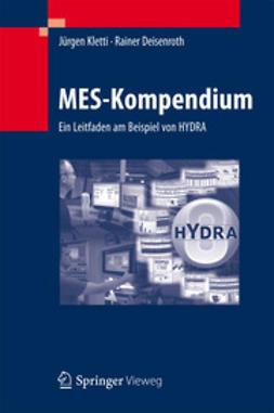 Kletti, Jürgen - MES-Kompendium, ebook