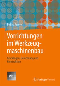 Perovic, Bozina - Vorrichtungen im Werkzeugmaschinenbau, ebook