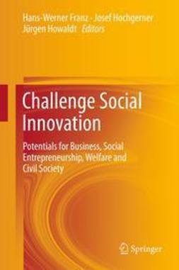 Franz, Hans-Werner - Challenge Social Innovation, ebook