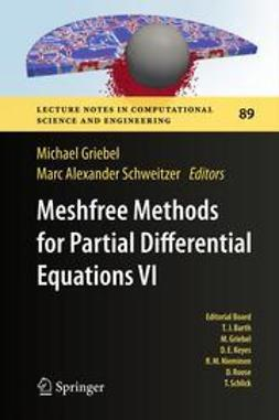 Griebel, Michael - Meshfree Methods for Partial Differential Equations VI, ebook