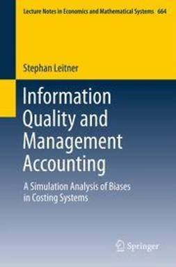 Leitner, Stephan - Information Quality and Management Accounting, ebook