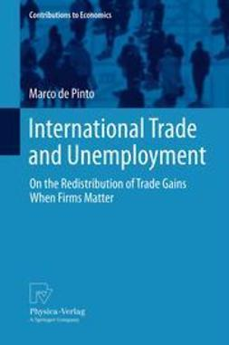Pinto, Marco de - International Trade and Unemployment, ebook