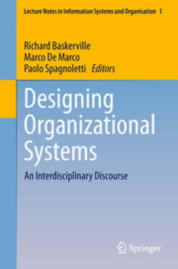 Baskerville, Richard - Designing Organizational Systems, ebook