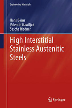 Berns, Hans - High Interstitial Stainless Austenitic Steels, ebook