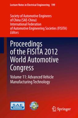 - Proceedings of the FISITA 2012 World Automotive Congress, ebook