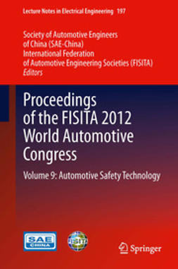 - Proceedings of the FISITA 2012 World Automotive Congress, e-bok