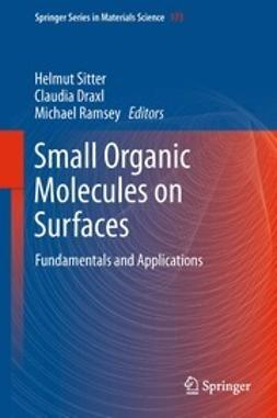 Sitter, Helmut - Small Organic Molecules on Surfaces, ebook