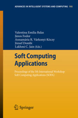 Balas, Valentina Emilia - Soft Computing Applications, e-kirja