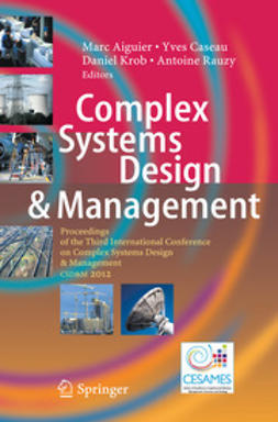 Aiguier, Marc - Complex Systems Design & Management, e-kirja