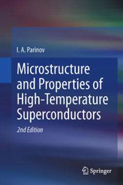 Parinov, I. A. - Microstructure and Properties of High-Temperature Superconductors, e-bok
