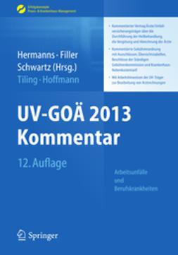 Hermanns, Peter M. - UV-GOÄ 2013 Kommentar - Arbeitsunfälle und Berufskrankheiten, ebook