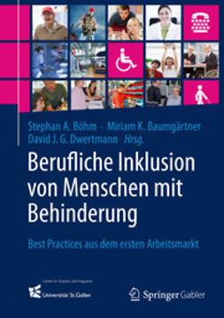 Böhm, Stephan A. - Berufliche Inklusion von Menschen mit Behinderung, ebook