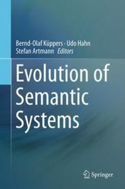 Küppers, Bernd-Olaf - Evolution of Semantic Systems, ebook