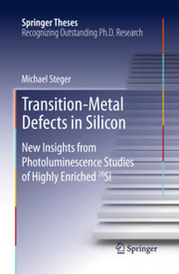 Steger, Michael - Transition-Metal Defects in Silicon, ebook
