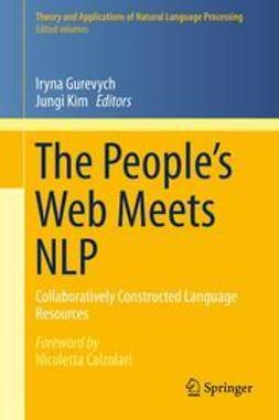 Gurevych, Iryna - The People's Web Meets NLP, e-kirja