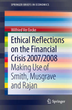 Eecke, Wilfried Ver - Ethical Reflections on the Financial Crisis 2007/2008, ebook