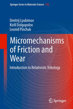 Lyubimov, Dmitrij - Micromechanisms of Friction and Wear, ebook