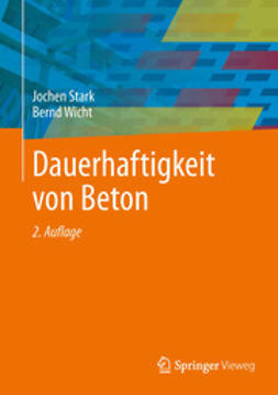 Stark, Jochen - Dauerhaftigkeit von Beton, e-bok