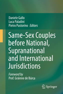 Gallo, Daniele - Same-Sex Couples before National, Supranational and International Jurisdictions, ebook